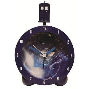 Official Doctor Who Tardis Alarm Clock with Tardis Sounds (UK Import)