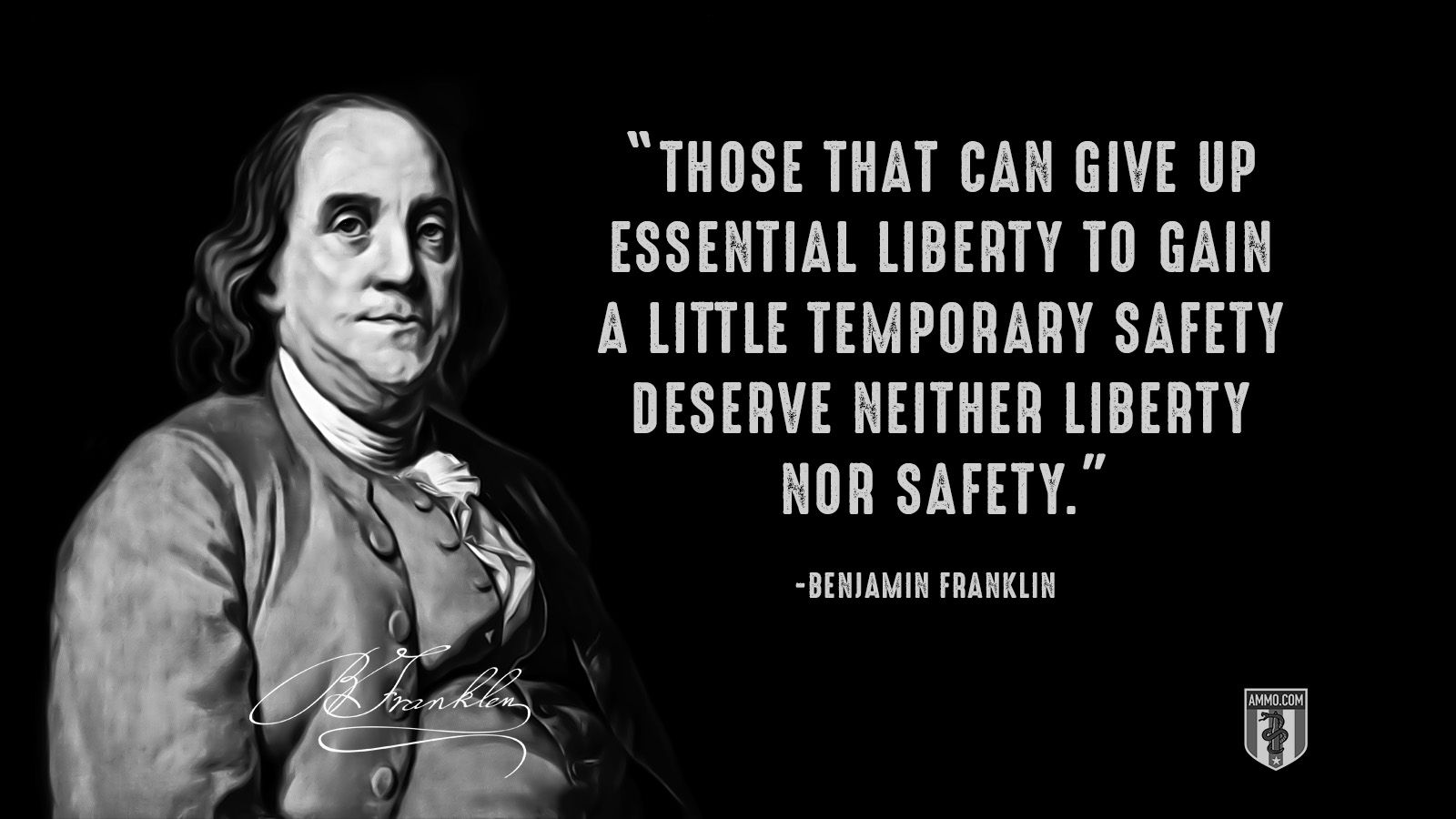 Those That Can Give Up Essential Liberty To Gain A Little