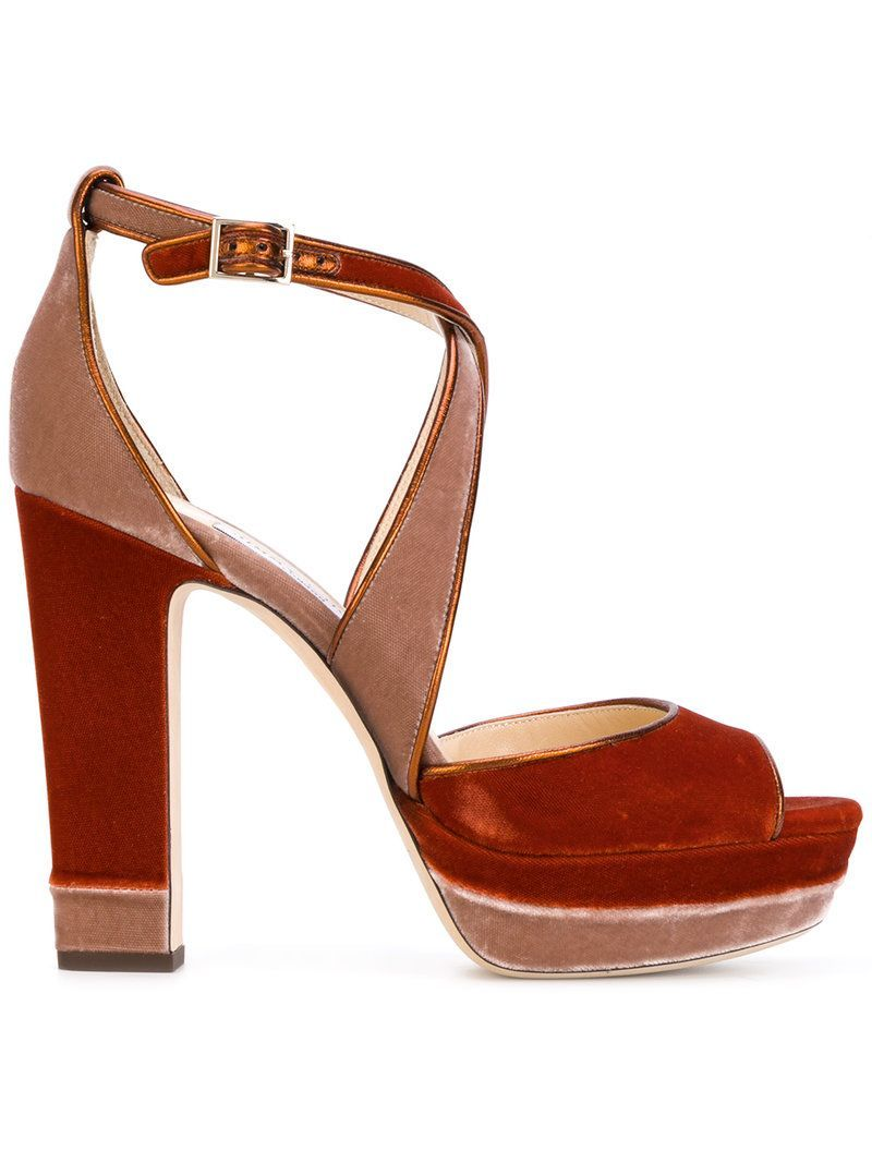 9c7cc2d61962 JIMMY CHOO JIMMY CHOO - APRIL 120 SANDALS .  jimmychoo  shoes ...