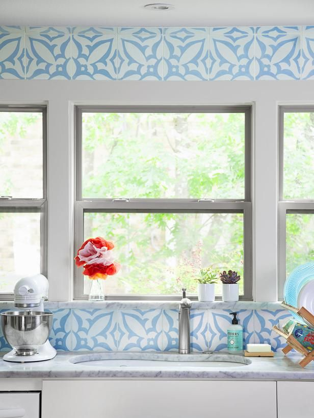 A Bright Kitchen With Personality From Hgtv Magazine
