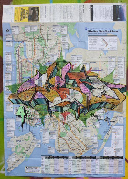 City Subway Map Art.Nyc Subway Map Graffiti Old School New York Graffiti Crews And