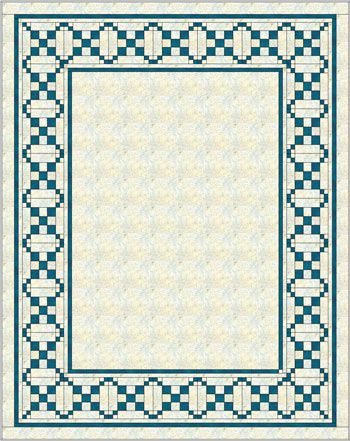 Single Chain and Knot Quilt - Explore the Possibilities! | Quilt ... : border quilt - Adamdwight.com
