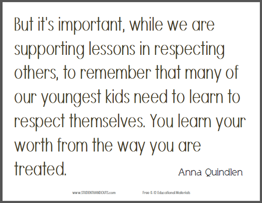 why is it important to respect others