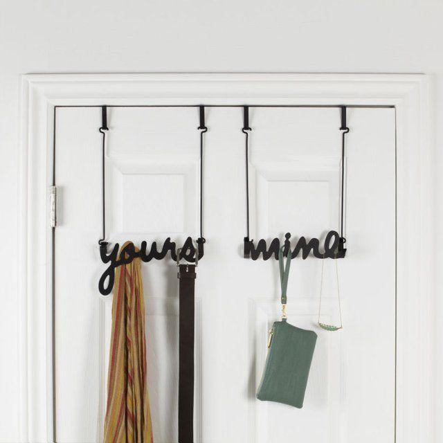 Yours Mine Over The Door Hook Over The Door Hooks Door Hooks