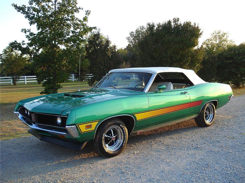 1971 Ford Torino Gt Convertible Barrett Jackson Auction Company