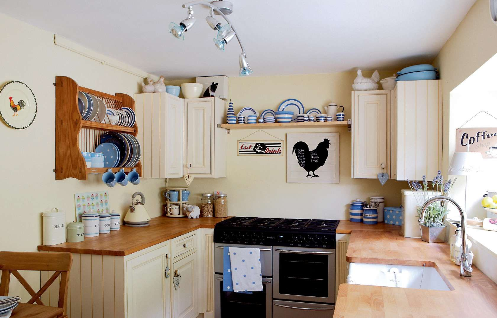 Small kitchen transformation | Period Living | Cottage ...