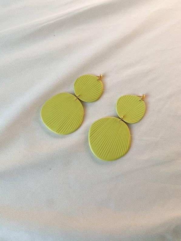 polymer clay earring drop earring statement earring modern earrings gifts for her #bracelet #bracelet #aesthetic