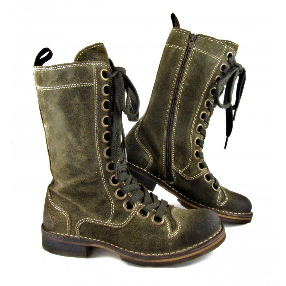 Women's Fly London Nule Lace Up Boots