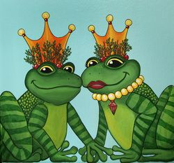 """Royals"" by Heather Moyer  www.hmartisticcreations.com"