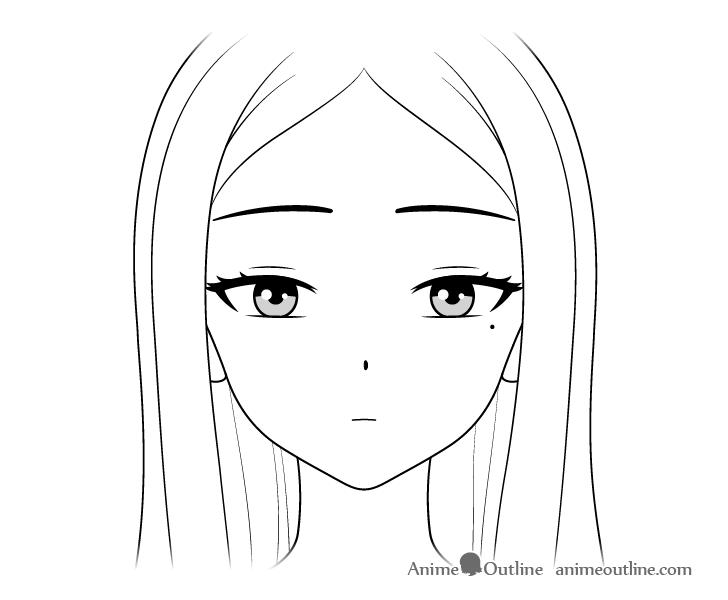 How To Draw Anime Google Search Desenho De Rosto Pintura De Aguarelas Facil De Desenhar