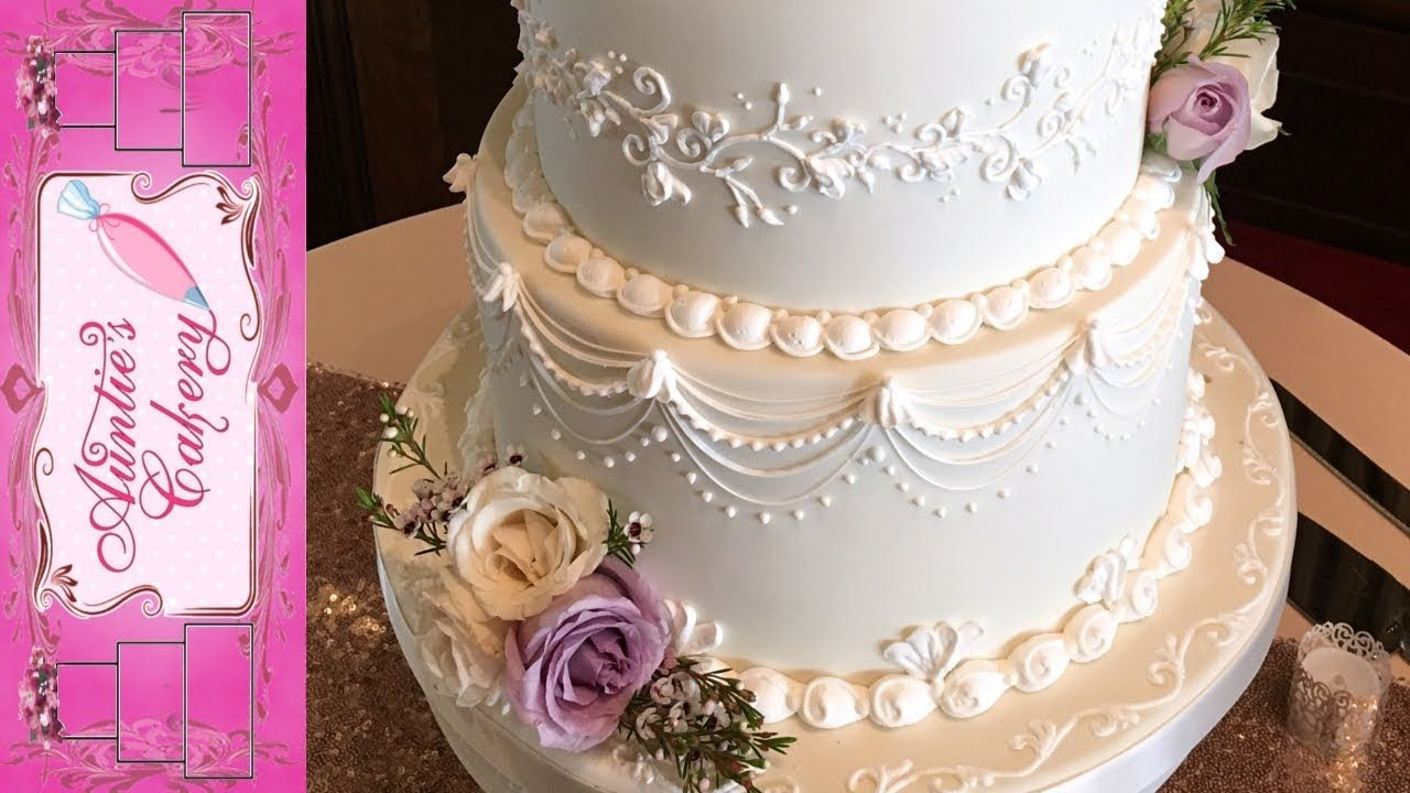 Spring wedding cake lambeth over piping tutorial this lovely