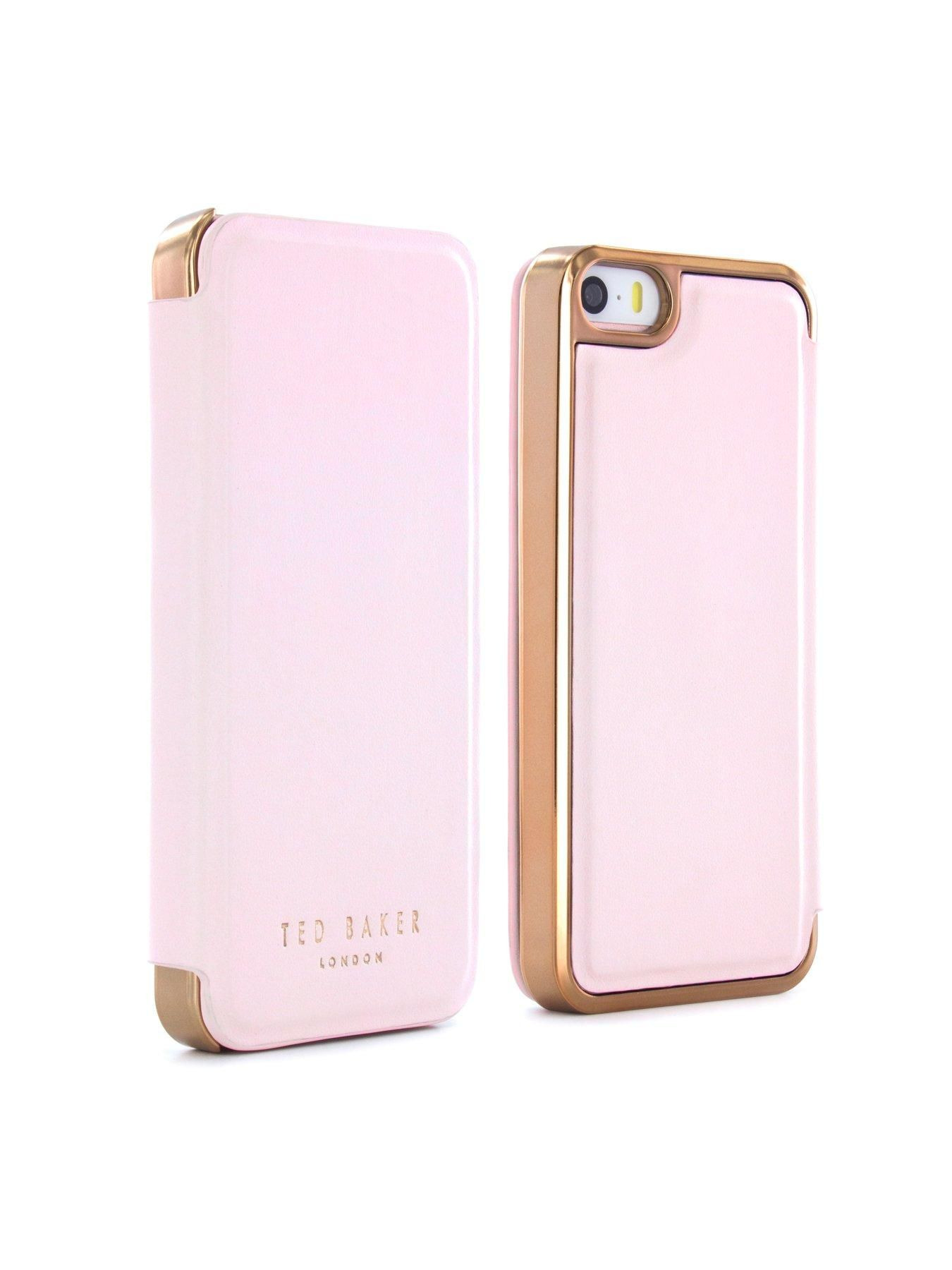 083c69ff0278 Ted Baker Slim Mirror Case (Apple iPhone 5 5S SE) - SHAEN (Nude Rose  Gold)Depth  13 MMHeight  125 MMWidth  65 MMOfficial Ted Baker smartphone  case