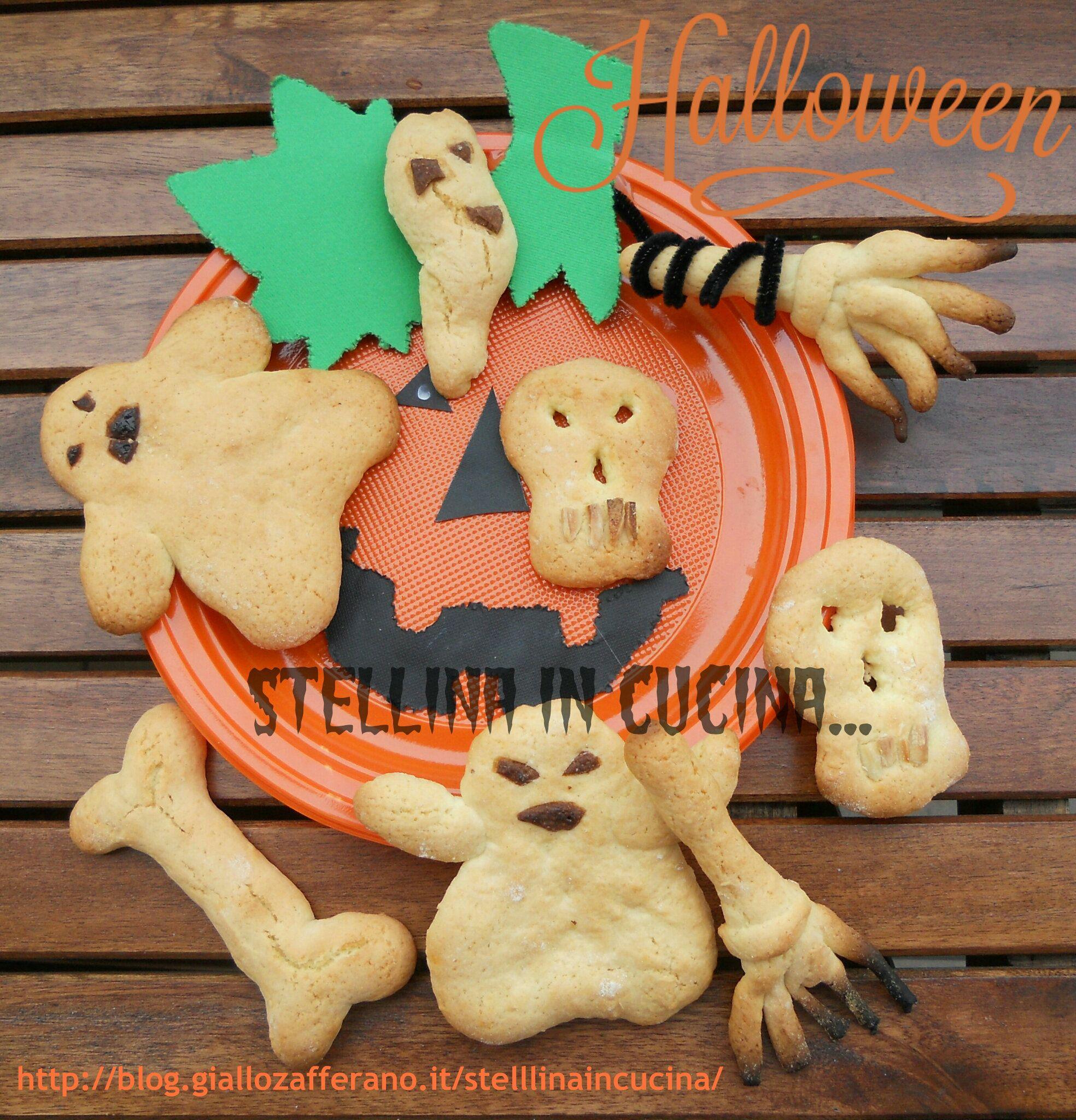 Horror biscotti facili e veloci Biscotti, Halloween e Cucine