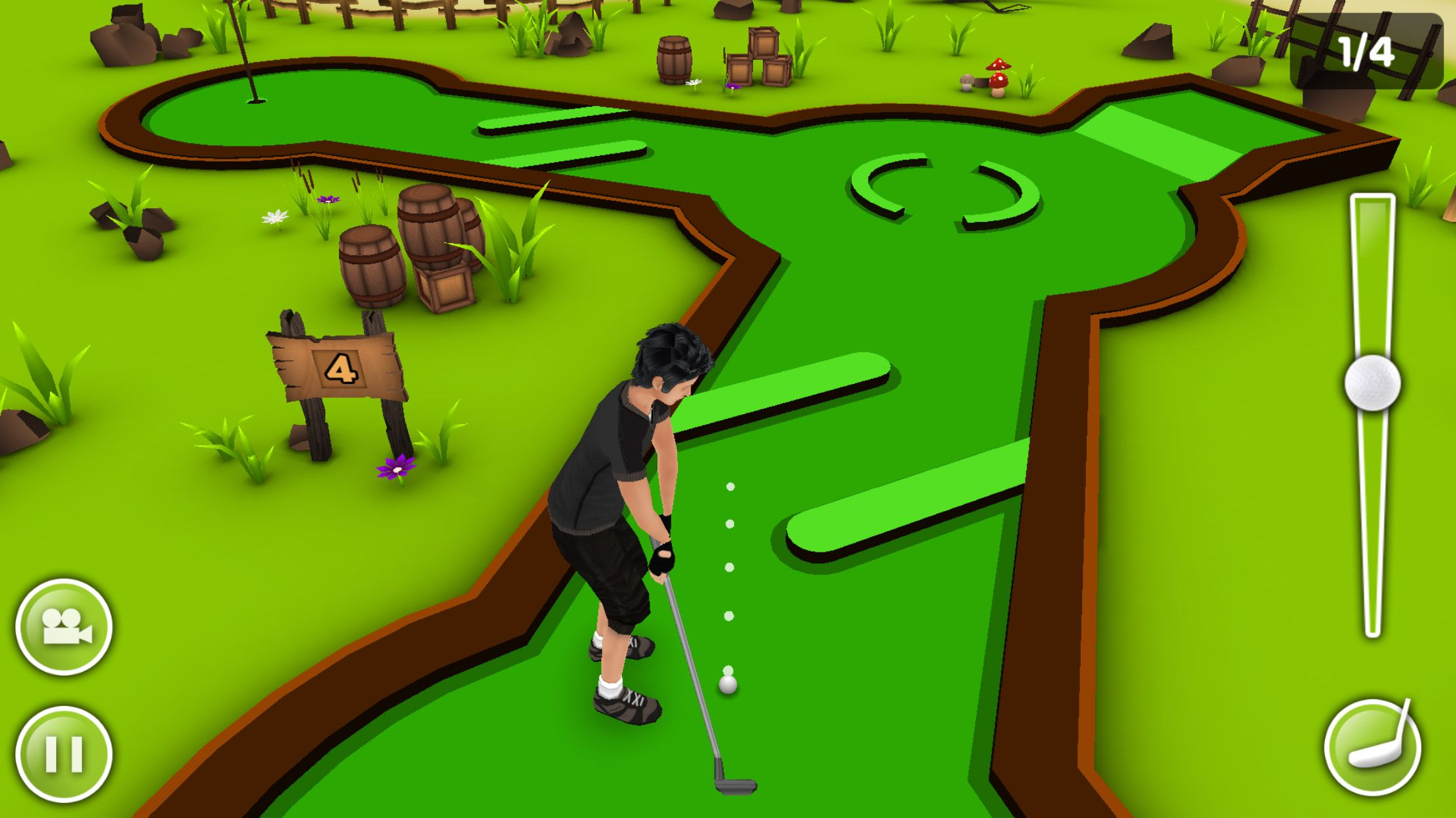 Mini Golf Game 3D by EivaaGames for iPhone and Android