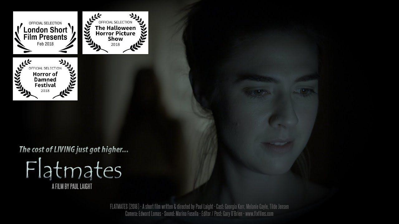 FLATMATES (2018) - Short Horror Film - scary ghost story