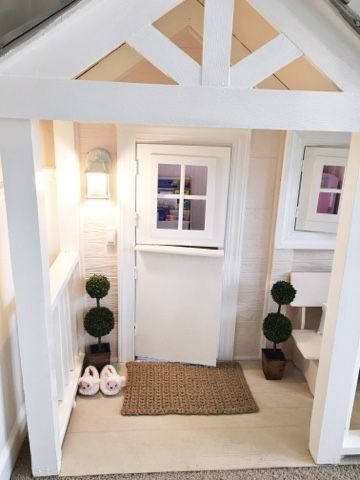 Indoor Custom Kid\'s Playhouse | Two Little Porches- All things ...