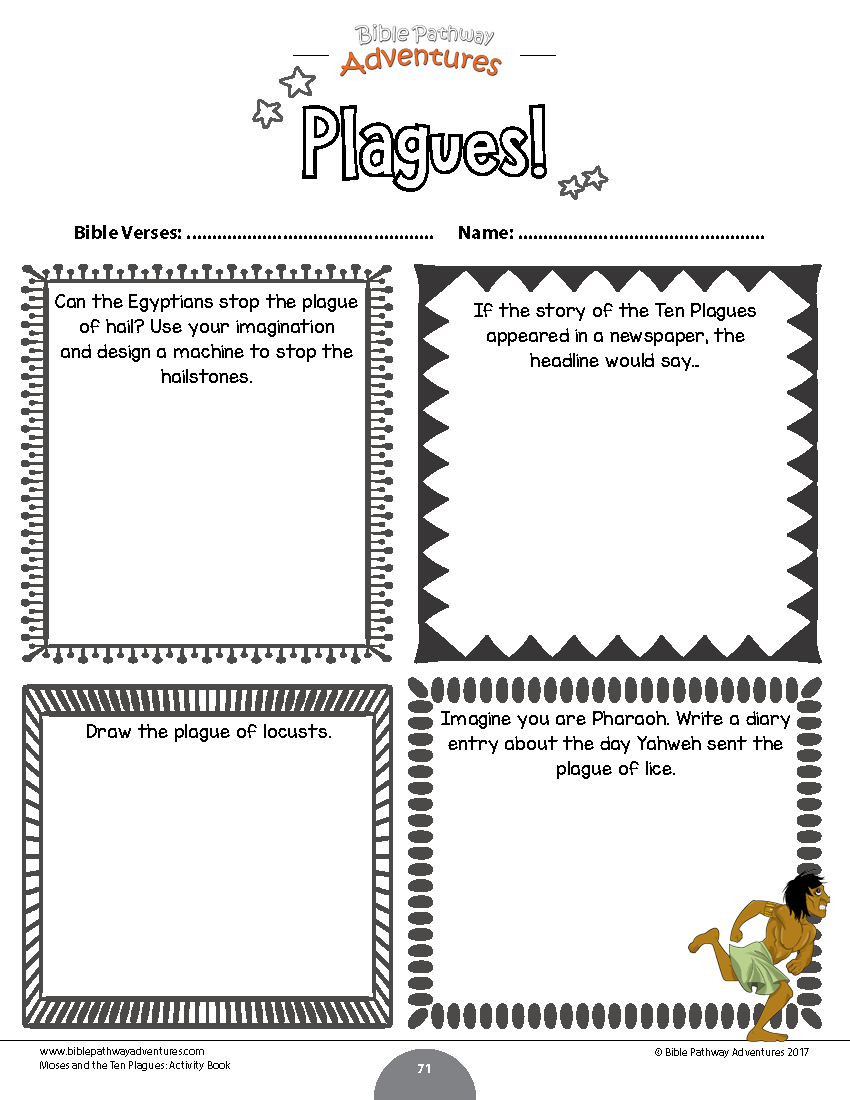 Bundle The Passover Story Bible Activities Book Activities Story Activities [ 1100 x 850 Pixel ]
