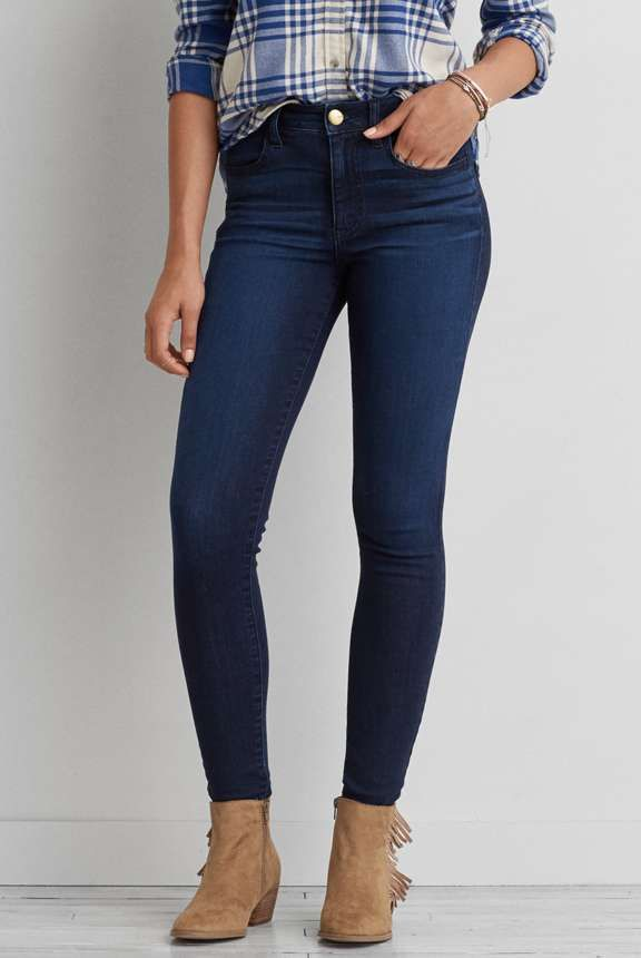 Hi Rise Jegging American Eagle Outfitters American Eagle Jeggings Black Skinny Jeans Jeggings