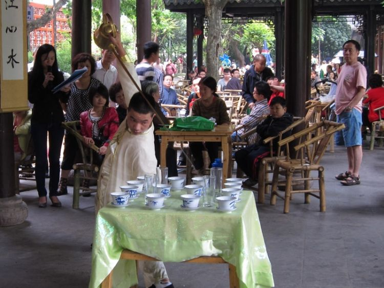 Chengdu Tea Art Performances, very special!