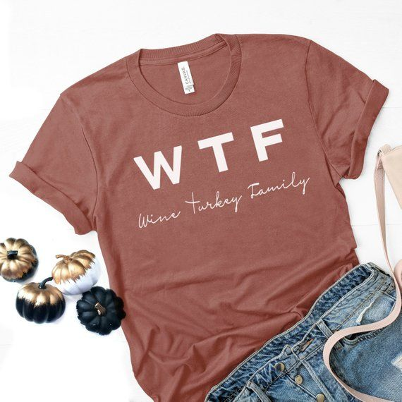 986dd71b256 Wine Turkey Family Thanksgiving Shirt for Women   Funny Thanksgiving Shirt    Thankful T Shirt Woman