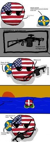 Polandball comics | Countryballs | Russian submarine, Joke stories