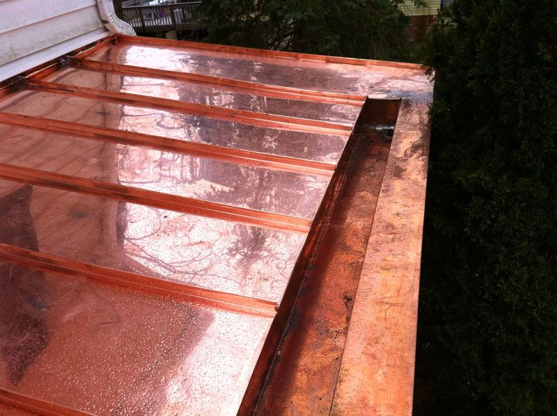 Lead Coated Copper Standing Seam Roof Google Search