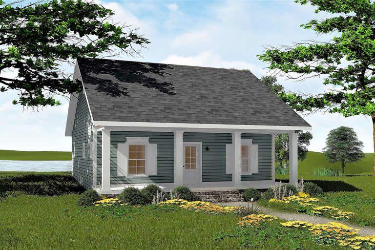 House Plan 1776 00090 Cottage Plan 992 Square Feet 2 Bedrooms 1 Bathroom In 2021 Country Style House Plans Cottage Plan Modern Farmhouse Plans