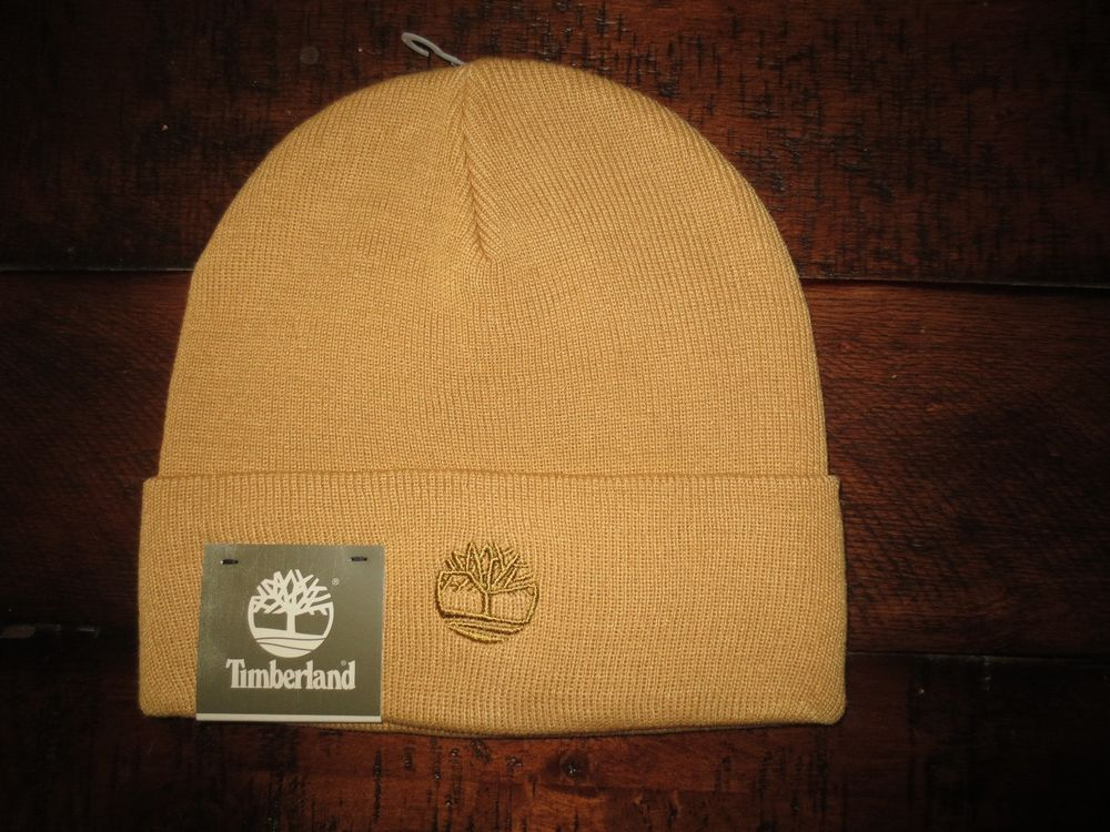 6cef713a238 TIMBERLAND MEN S BEANIE HAT SKULL CAP NEW WHEAT COLOR NWT  Timberland   Beanie