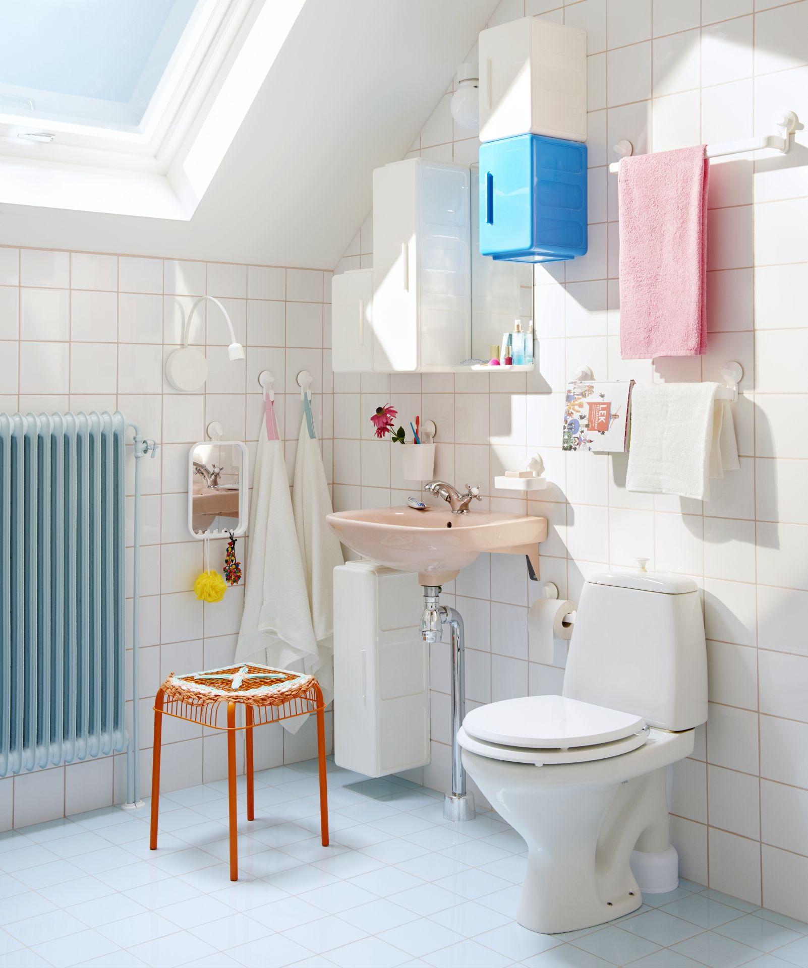 VÄSTERÖN Kruk, binnen/buiten, oranje   Bath