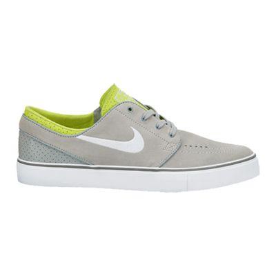sports shoes 18ae7 bad7a Nike SB Zoom Stefan Janoski Base Grey White Venom Green