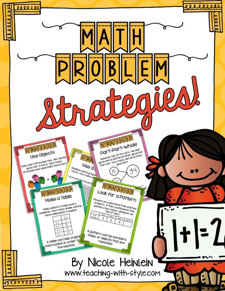 Problem Solving Strategies Worksheets
