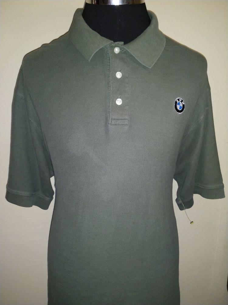 9f009548da1 BMW Auto Lifestyle Dark Green BMW Logo Polo Shirt - Mens XL - Small Grease  Stain  fashion  clothing  shoes  accessories  mensclothing  shirts (ebay  link)