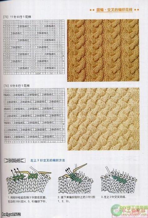 Patrones de bolso tejido con dos agujas | cositas | Pinterest ...