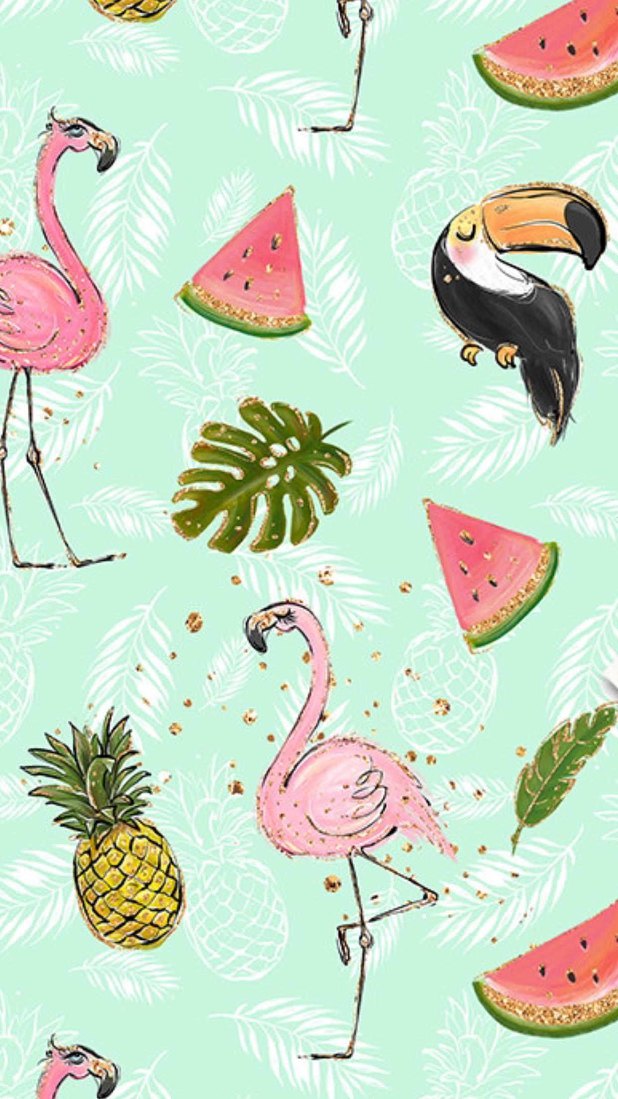 Pinterest Jareth Perez Tropical Print Wallpaper