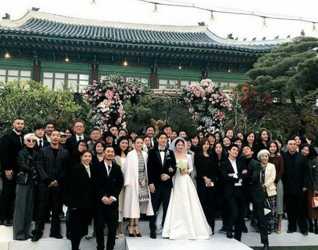 Fans Share Photos Of Song Joong Ki And Hye Kyo S Private Wedding Allkpop