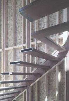 Photo Detail Of Cantilevered Stair