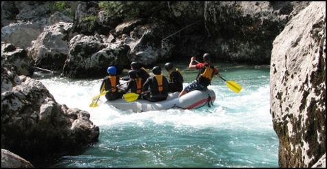 $35 for a Full Day White Water Rafting Adventure