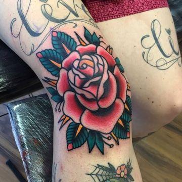 Originales Y Tradicionales Tatuajes En La Rodilla Para Mujer Tatus