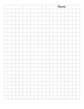 1cm X 1cm Grid Paper Grid Paper Paper Outline Paper Subtraction worksheets on graph paper
