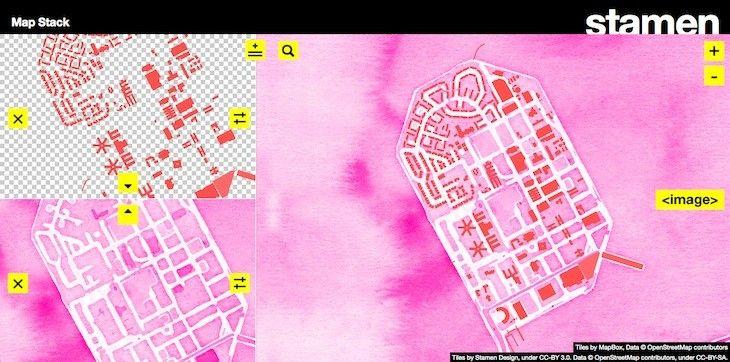 Sabías que Map Stack, una curiosa herramienta para diseñar mapas de forma rápida y sencilla