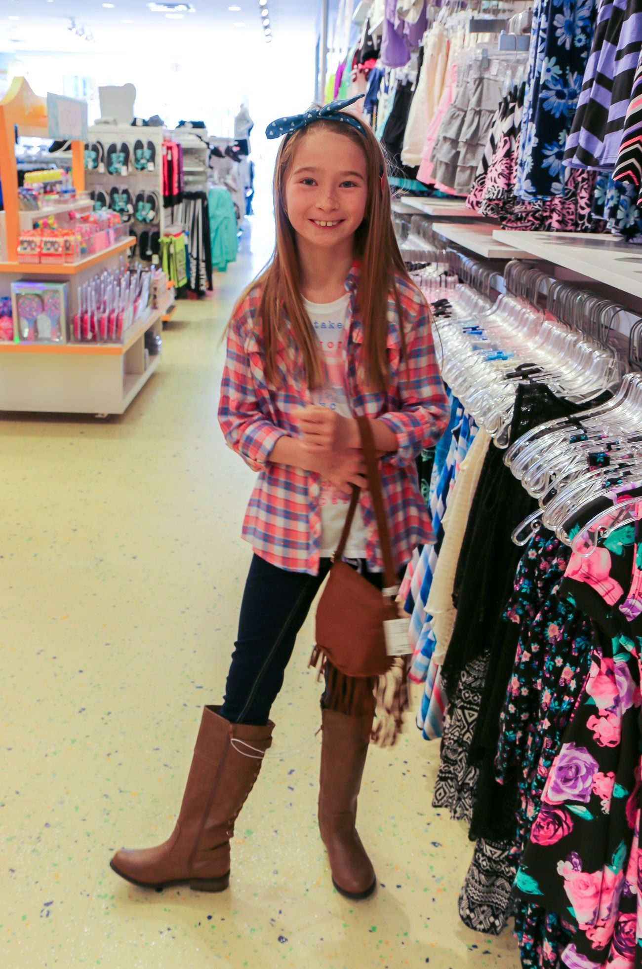 69475e3729c Part of the back-to-school collection for girls at Justice includes  adorable western wear and cute boots!  EveryGirlEveryDay