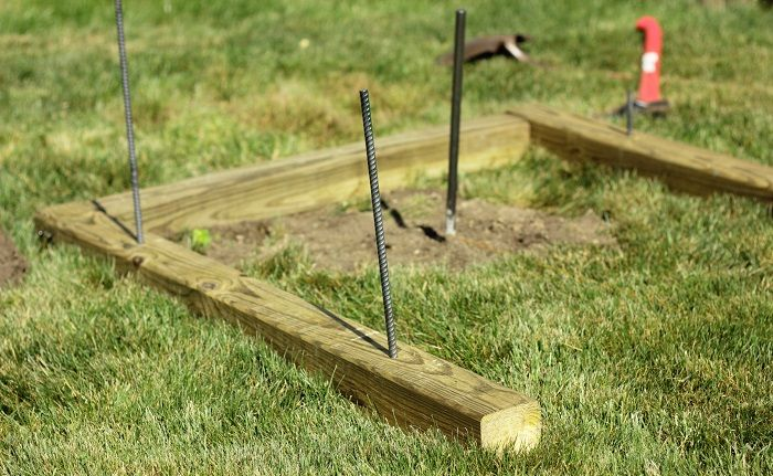 How To Build Backyard Horseshoe Pits - Dad's Round Table ...