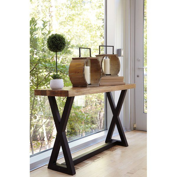 Vivier Console Table Sofa Table Wood Console Table Ashley Furniture