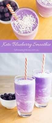 Keto Smoothie  Blueberry Galaxy