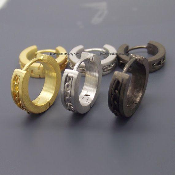 Custom Gauge Hoop Earrings 14 16 18