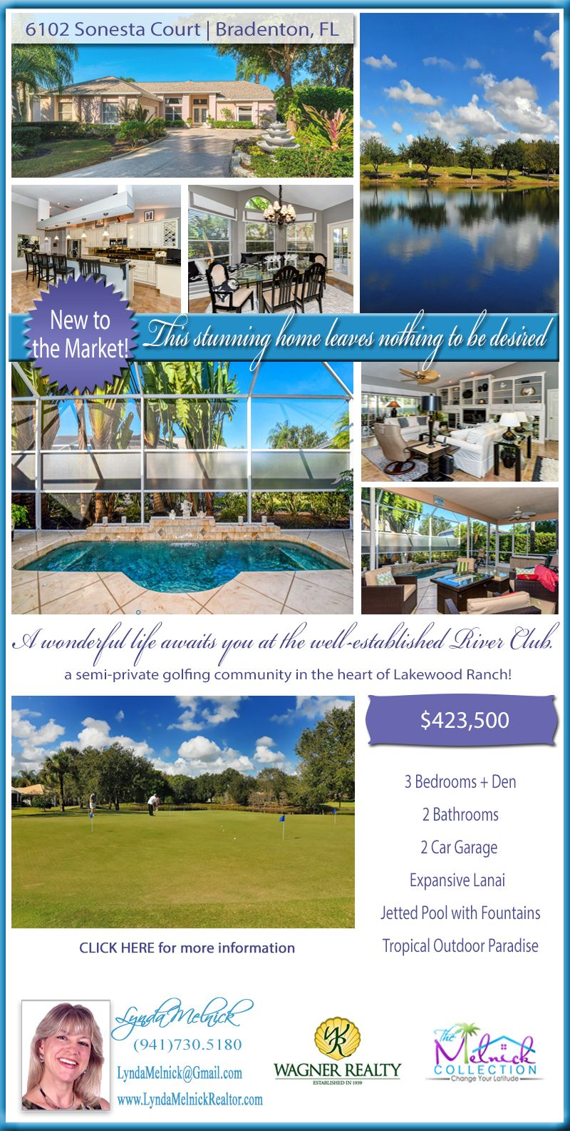 JUST LISTED Stunning home in River Club, a semiprivate