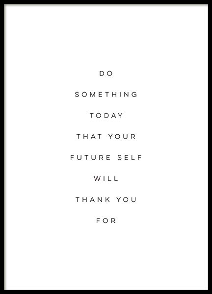 Your Future Self Poster