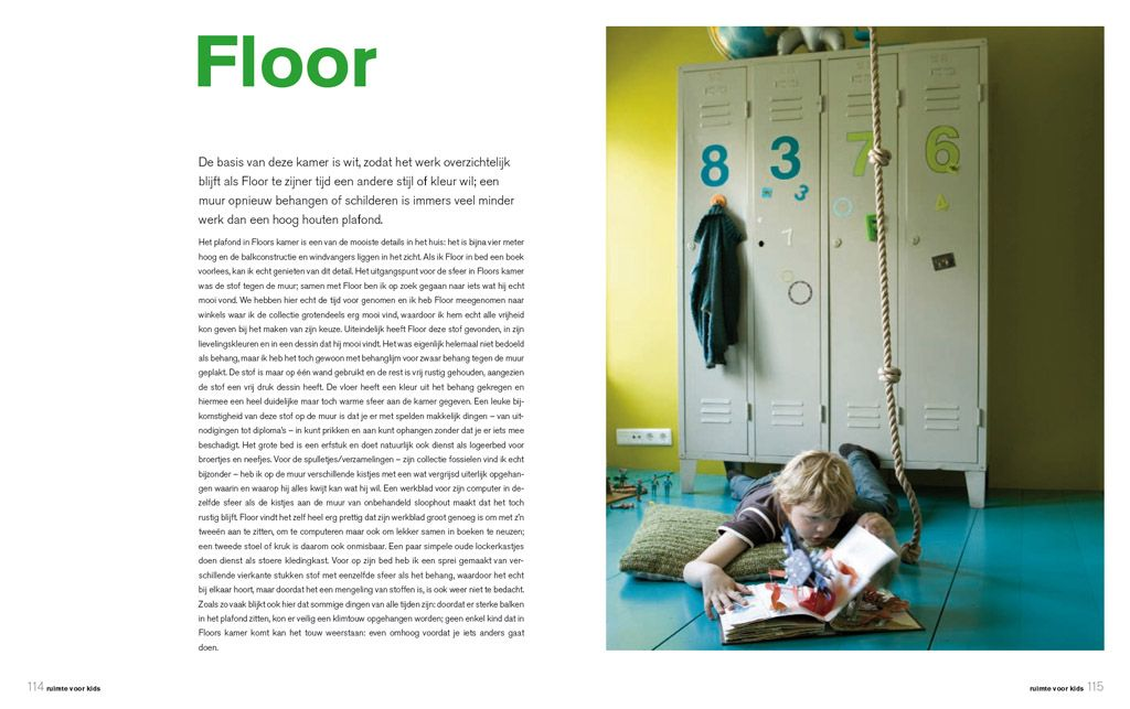 Studio Marijke Schipper: boeken-fotos : Ruimte voor kids