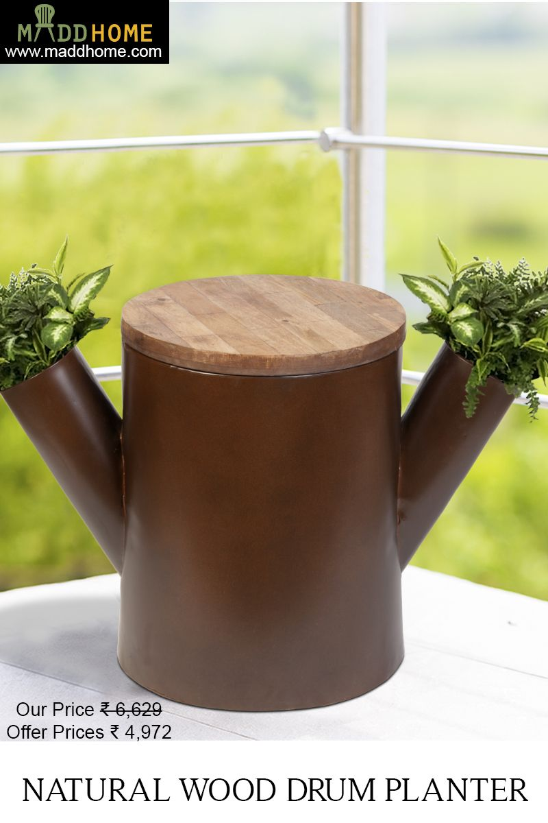 Homedecor #LivigRoomDecor A perfect stool #planter for your stylish ...