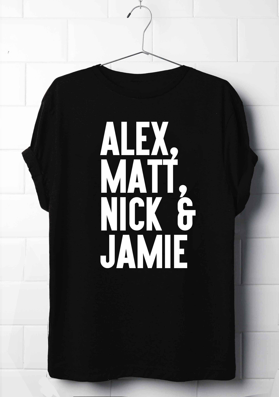 Danny zuko black t shirt - Alex Turner Matt Helders Jamie Cook Nick O Malley T Shirt